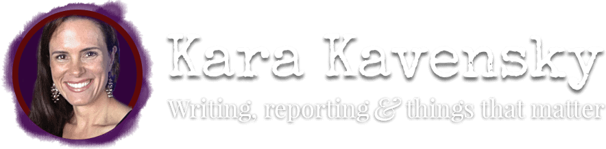 Kara Kavensky - Writer, Author, and Blogger