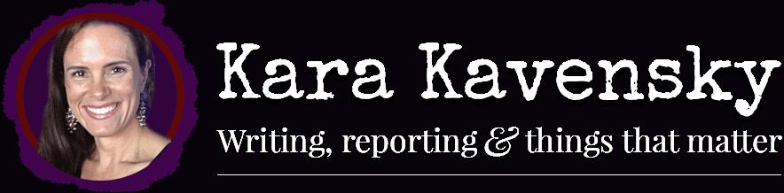 Kara Kavensky - Writer, Author, and Blogger